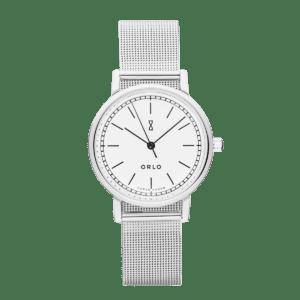 ORLO Copenhagen Silver White Petite 33