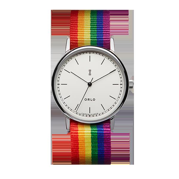 ORLO Copenhagen 2021 World Pride and EuroGames Official Time Piece